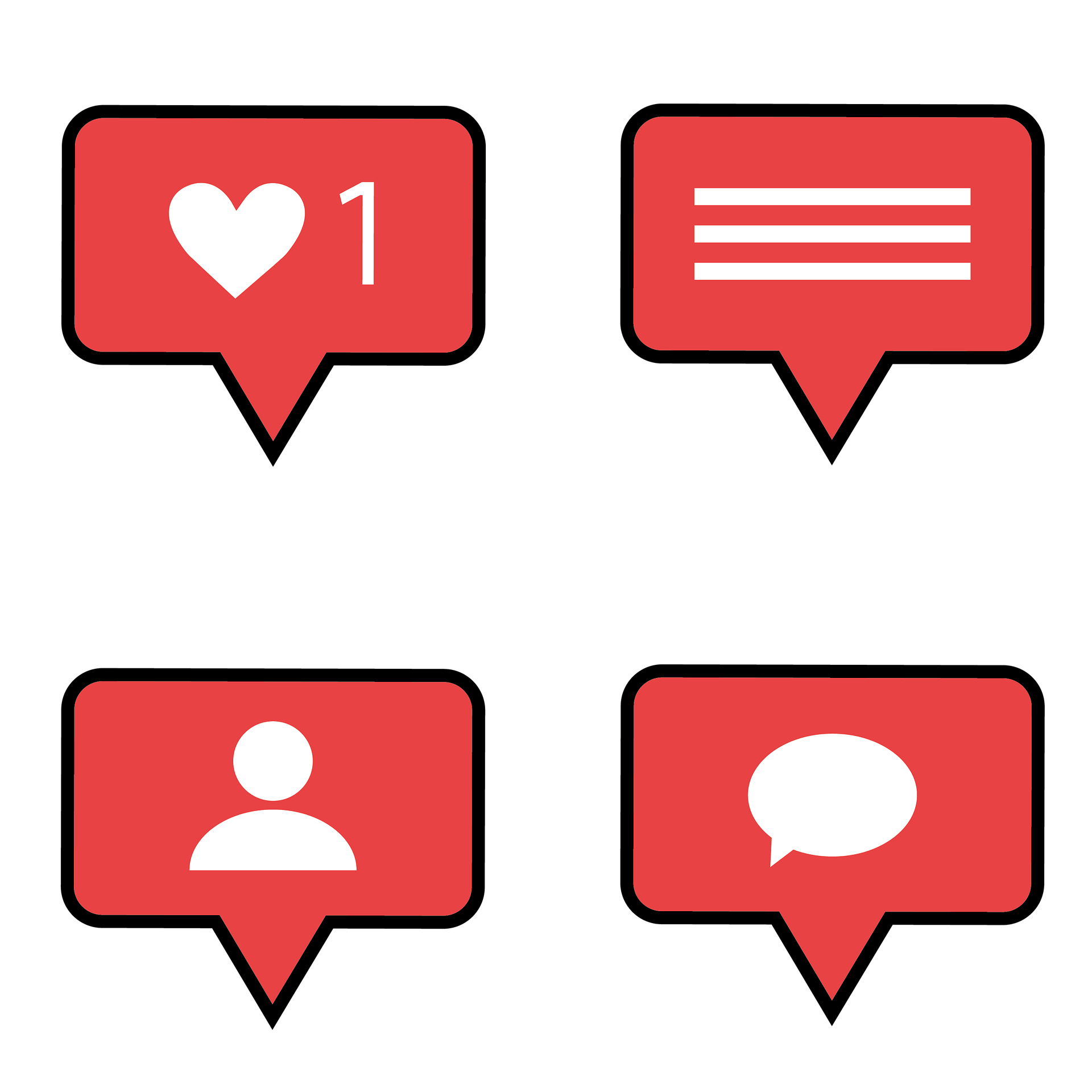 Social Media Notifications