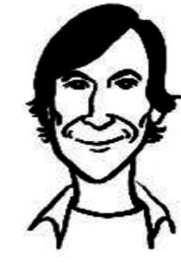 Image of cartoon man