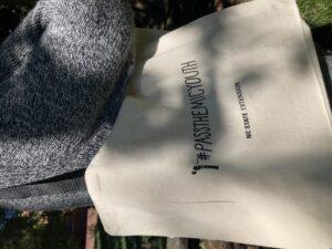 Tote bag up close